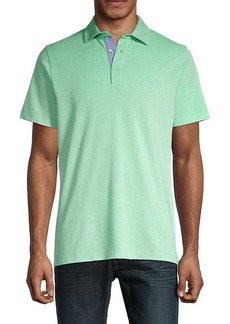 TailorByrd Brody Short-Sleeve Polo