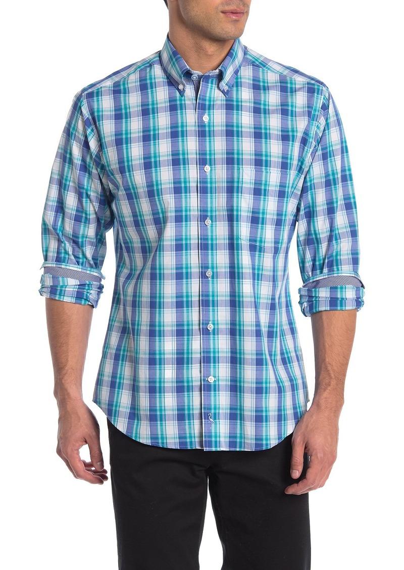 TailorByrd Check Print Regular Fit Shirt