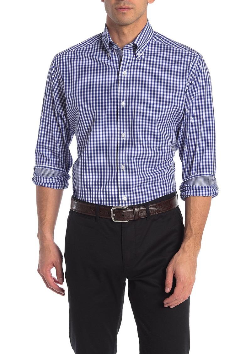 TailorByrd Gingham Check Print Regular Fit Shirt