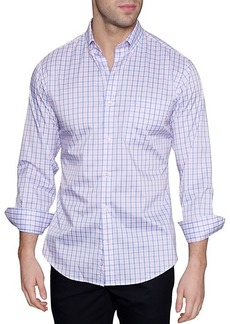 TailorByrd Gus Modern-Fit Checkered Shirt