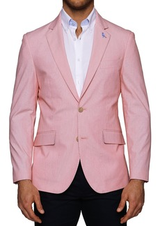 TailorByrd Lanrick Pincord Two Button Notch Lapel Blazer