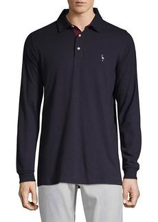 TailorByrd Long-Sleeve Teddy Polo