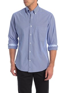 TailorByrd Micro Check Print Regular Fit Shirt