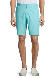 TailorByrd Solid Dobby Shorts