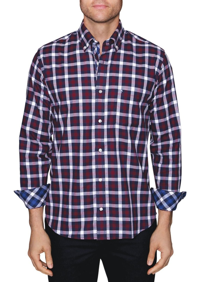 TailorByrd Ton Classic Fit Button-Down Shirt