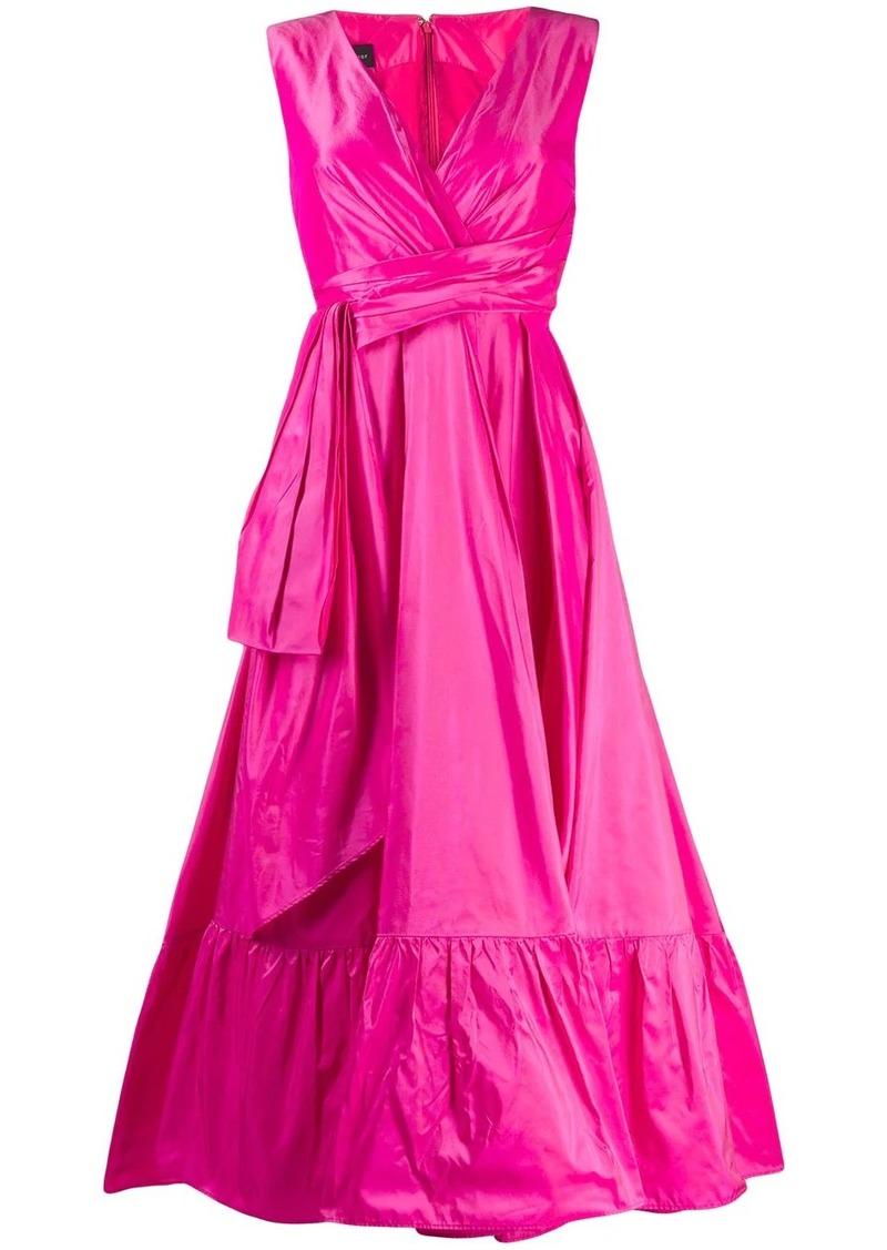 Talbot Runhof Boma flared dress