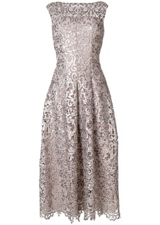 Talbot Runhof paillette-embellished dress