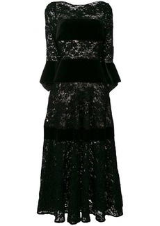 Talbot Runhof sequin lace dress