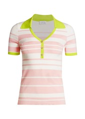 Tanya Taylor Bette Knit Polo