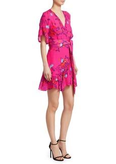 Tanya Taylor Brandy Floral Wrap Dress