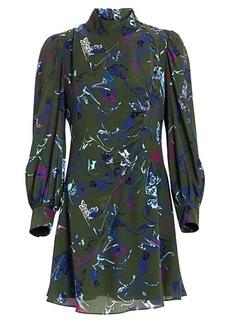 Tanya Taylor Clarisse Floral Silk Dress
