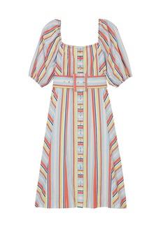 Tanya Taylor Claude Stripe Dress