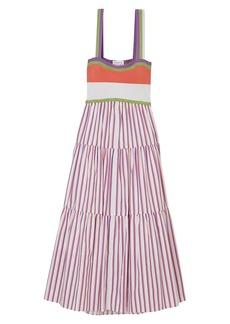 Tanya Taylor Claudia Striped Dress