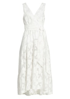 Tanya Taylor Neves Jacquard Midi Dress