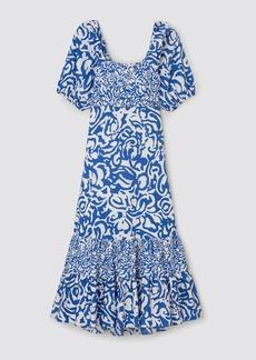 Tanya Taylor Cynthia Maze-Print Dress