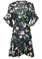 Tanya Taylor garden print dress - Blue