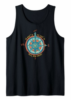 Taos New Mexico Outdoors Adventure Graphic Tank Top