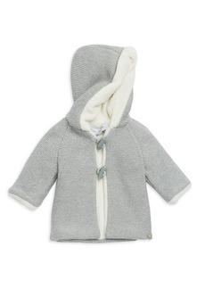 Tartine et Chocolat Baby Girl's & Little Girl's Faux Fur-Trim Knitted Coat