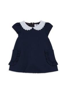 Tartine et Chocolat Baby Girl's & Little Girl's Peter Pan Collar A-Line Dress
