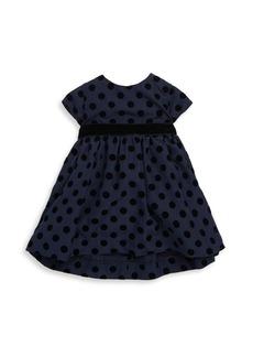 Tartine et Chocolat Baby Girl's & Little Girl's Polka Dot Fit-&-Flare Dress