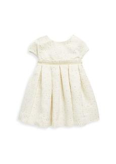Tartine et Chocolat Baby Girl's & Little Girl's Short-Sleeve Jacquard Fit-&-Flare Dress