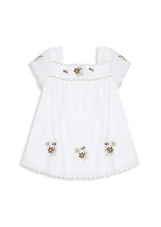 Tartine et Chocolat Baby's & Little Girl's Embroidered Flower Dress