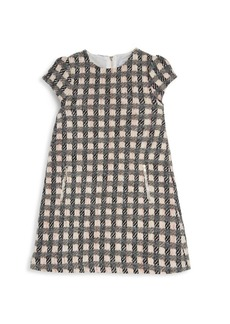 Tartine et Chocolat Little Girl's Cotton-Blend Checkered Dress