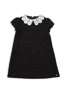Tartine et Chocolat Little Girl's Lace Trim Dress