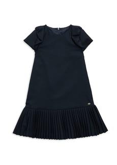 Tartine et Chocolat Little Girl's Pleated A-Line Dress