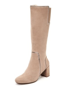 Taryn Rose Charlee Suede Knee Boots