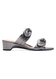 Taryn Rose Nanette Leather Heeled Sandals