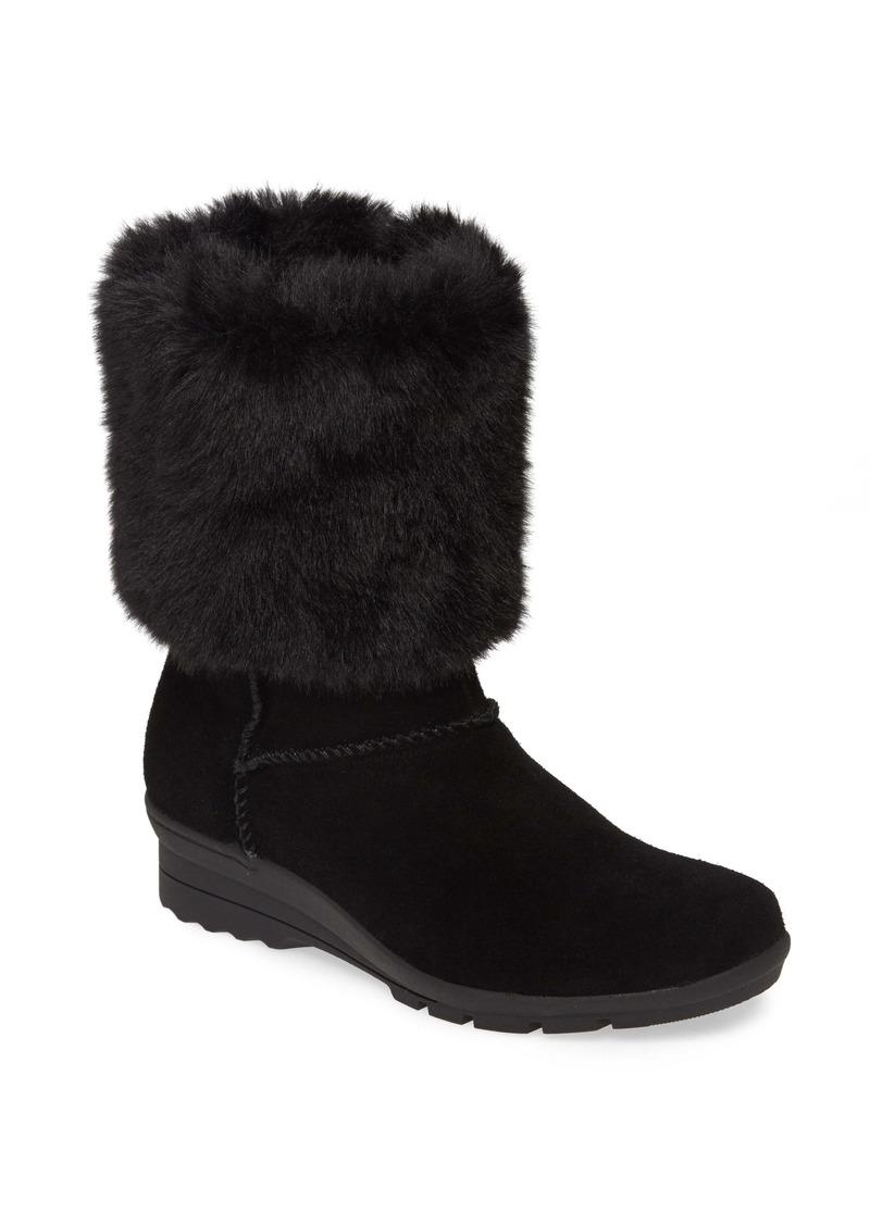 Taryn Rose Erica Faux Fur Weatherproof Boot (Women)