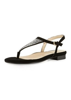 Taryn Rose Ibsen Bejeweled Thong Sandal