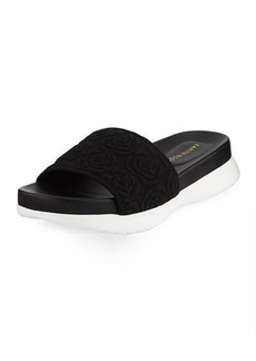 Taryn Rose Iris Comfort Knit Pool Slide Sandal