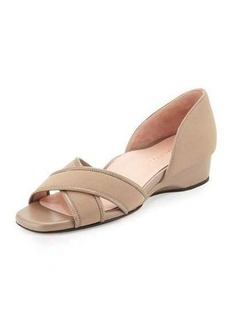 Taryn Rose Kaida Crisscross Demi-Wedge Sandal
