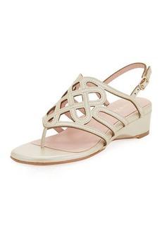 Taryn Rose Kelvo Patent Wedge Sandal