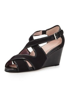 Taryn Rose Kinza Crisscross Wedge Sandal