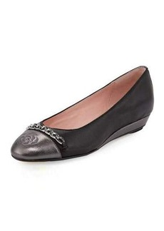Taryn Rose Paola Leather Comfort Flat