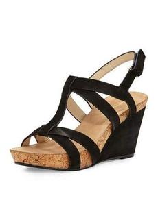 Taryn Rose Trini Nubuck Wedge Sandal