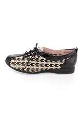 Taryn Rose Trudee Woven Leather Sneaker