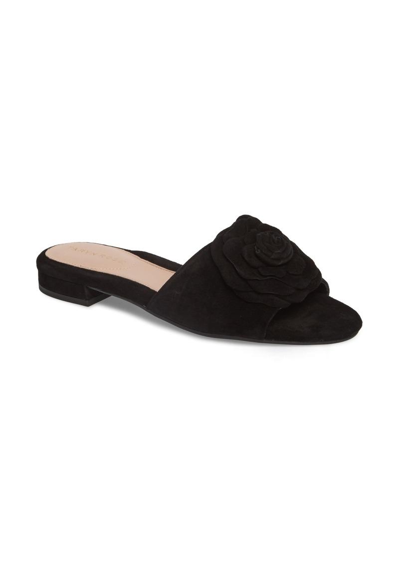 f1ff8729afe Taryn Rose Taryn Rose Violet Flower Slide Sandal (Women) Now  89.96