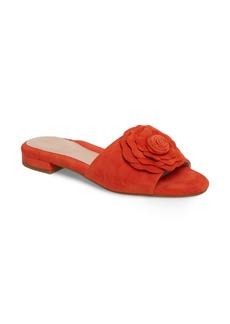 Taryn Rose Violet Flower Slide Sandal (Women)