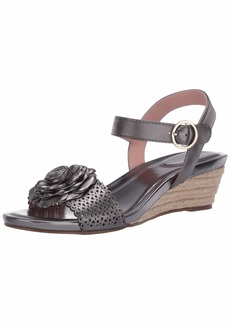Taryn Rose Women's Ankle Strap Espadrille Wedge Sandal