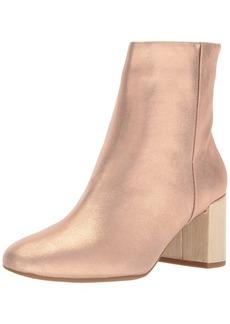 Taryn Rose Women's Cassidy Powder Metallic Ankle Boot