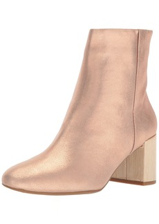 Taryn Rose Women's Cassidy Powder Metallic Ankle Boot   M M US