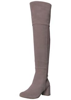 Taryn Rose Women's Catherine LUX Suede Fashion Boot Grey 7 M Medium US