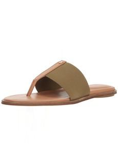Taryn Rose Women's Kamryn Vachetta Flat Sandal sage