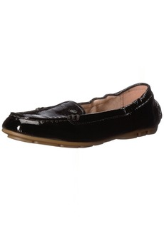 Taryn Rose Women's Kristine Crinkled Patent Driving Style Loafer