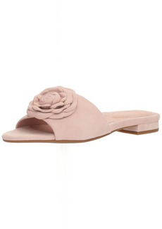 Taryn Rose Women's Violet Silky Suede Slide Sandal