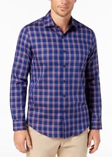 Tasso Elba Bossini Plaid Shirt, Created for Macy's